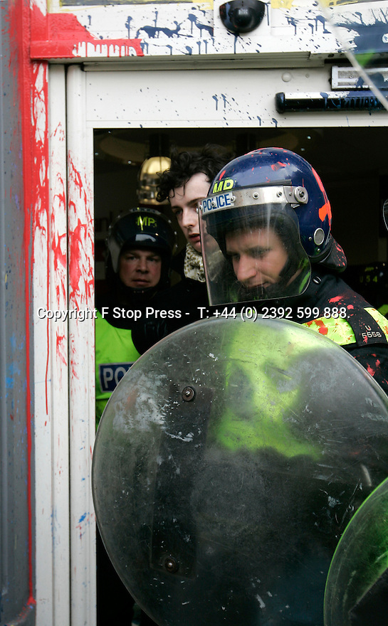 26/03/11 ..Demonstrator is arrested...Thousands of protestors demonstrate against government cuts in London today..All rights reserved. F Stop Press 02392 599 888.Local copyright law applies to all print & online usage. Fees charged will comply with standard space rates and usage for that country, region or state.26/03/11 ..Thousands of protestors demonstrate against government cuts as they march down the embankment  London today...All rights reserved. F Stop Press 02392 599 888.Local copyright law applies to all print & online usage. Fees charged will comply with standard space rates and usage for that country, region or state.26/03/11 .Police guard a branch of HSBC on Charring Cross Road London today after protestors paint bomb and smash windows in the bank...All rights reserved. F Stop Press 02392 599 888.Local copyright law applies to all print & online usage. Fees charged will comply with standard space rates and usage for that country, region or state.
