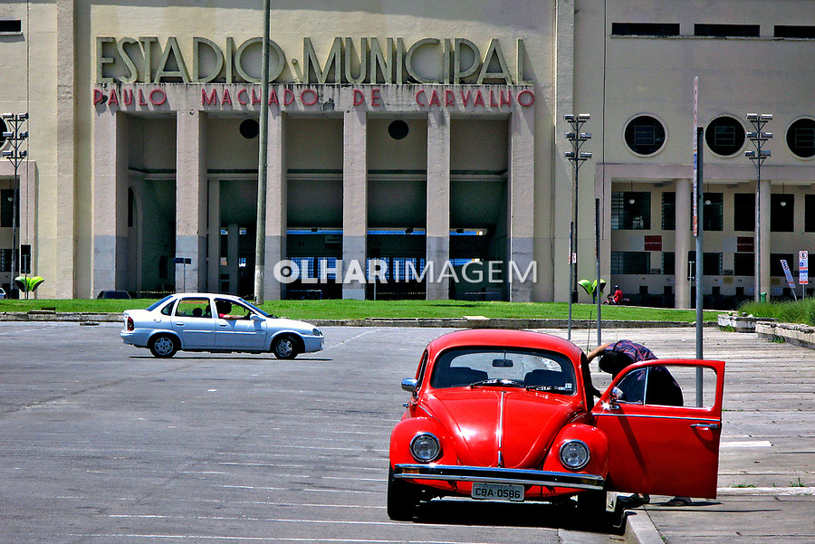 Estádio do Pacaembu em São Paulo. 2007. Foto de Juca Martins.