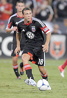 D.C. United midfielder Nick DeLeon (18) D.C. United defeated The Chicago Fire 4-2 at RFK Stadium, Wednesday August 22, 2012.