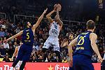 Turkish Airlines Euroleague 2017/2018.<br /> Regular Season - Round 8.<br /> FC Barcelona Lassa vs Valencia Basket: 89-71.<br /> Pau Ribas vs Erick Green.