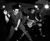 Fugazi at the Speedway Cafe.