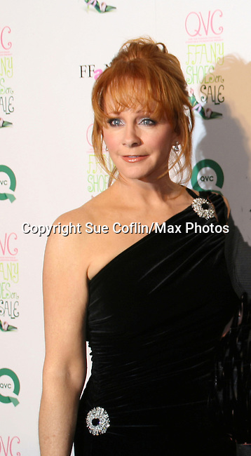 """Country Singer Reba McEntire is at the 15th Annual QVC presents """"FFANY Shoes on Sale"""" which benefits Breast Cancer Research on October 15, 2008 at the Waldorf Astoria, New York City, New York. (Photo by Sue Coflin/Max Photos)"""
