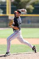 Mitch Lively, San Francisco Giants 2010 minor league spring training..Photo by:  Bill Mitchell/Four Seam Images.
