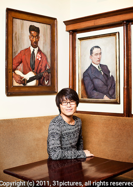 The Netherlands, Amsterdam, 25 November 2011. The International Documentary Film Festival Amsterdam 2011. Portrait Seung-Jun Yi, director Planet of Snail in Schiller Brasserie. Photo: 31pictures.nl / (c) 2011, www.31pictures.nl