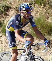 Alberto Contador during the stage of La Vuelta 2012 between Barakaldo and Valdezcaray.August 21,2012. (ALTERPHOTOS/Paola Otero) /NortePhoto.com