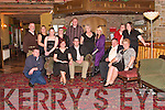 BIRTHDAY BASH: Kathleen O'Connell, Tarbert, (seated 2nd left front row) celebrated her 50th birthday with her family and friends in Kirby's Lanterns Hotel, Tarbert on Saturday night.