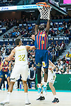 Youssoupha Fall shoots during Real Madrid vs Kirolbet Baskonia game of Liga Endesa. 19 January 2020. (Alterphotos/Francis Gonzalez)