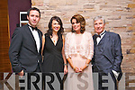 Enjoying Oliver Hurley's Night at the Oscars   50th birthday celebration  at the Fels point Hotel on Friday were Gordon Weldon, Edel O'Connor, Maureen Curtin and Alfie Curtin