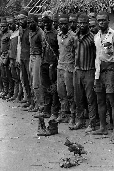 Ibos soldiers, civil war, Biafra, Nigeria, April 1968