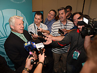 MIAMI BEACH, FL - JANUARY 28: Jimmy Johnson attends the Fox Sports Media Day during Super Bowl LIV week on January 28, 2020 in Miami Beach, Florida. (Photo by Frank Micelotta/Fox Sports/PictureGroup)