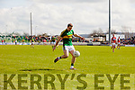 Padraig O'Connor Kerry in action against  Cork in the National Football league in Austin Stack Park, Tralee on Sunday.