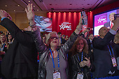 Supporters cheer for U.S. President Donald Trump during CPAC 2019 on March 02, 2019 in Washington, DC. The American Conservative Union hosts the annual Conservative Political Action Conference to discuss conservative agenda. <br /> Credit: Tasos Katopodis / Pool via CNP