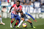 CD Leganes' Youssef En-Nesyri (r) and Atletico de Madrid's Thomas Lemar during La Liga match. November 3,2018. (ALTERPHOTOS/Acero)