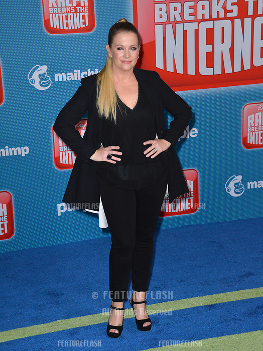 LOS ANGELES, CA. November 05, 2018: Melissa Joan Hart at the world premiere of &quot;Ralph Breaks The Internet&quot; at the El Capitan Theatre.<br /> Picture: Paul Smith/Featureflash