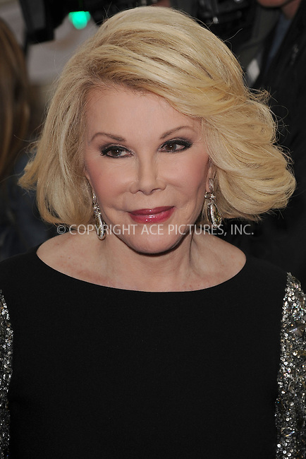 WWW.ACEPIXS.COM . . . . . .April 30, 2012...New York City.... Joan Rivers arriving to attend the E! 2012 Upfront at Gotham Hall on April 30, 2012  in New York City ....Please byline: KRISTIN CALLAHAN - ACEPIXS.COM.. . . . . . ..Ace Pictures, Inc: ..tel: (212) 243 8787 or (646) 769 0430..e-mail: info@acepixs.com..web: http://www.acepixs.com .