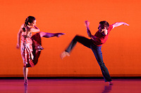 Richard Alston's Dance Company perform &quot;Gypsy Mixture&quot; as part of the Richard Alston Dance Company's performance at Sadler's Wells, London, UK. <br /> 16 June  2017<br /> Picture: Steve Vas/Featureflash/SilverHub 0208 004 5359 sales@silverhubmedia.com