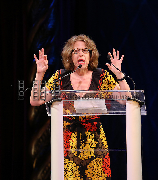 Jackie Hoffman during the 69th Annual Theatre World Awards Presentation at the Music Box Theatre in New York City on June 03, 2013.