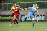 Boyds, MD - Saturday August 26, 2017: Arielle Ship, Julie Ertz during a regular season National Women's Soccer League (NWSL) match between the Washington Spirit and the Chicago Red Stars at Maureen Hendricks Field, Maryland SoccerPlex.
