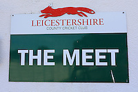 General view of the sign for The Meet ahead of Leicestershire CCC vs Essex CCC, Specsavers County Championship Division 2 Cricket at the Fischer County Ground, Grace Road on 23rd August 2016