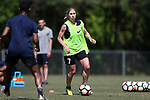 CARY, NC - APRIL 20: McCall Zerboni. The North Carolina Courage held a training session on April 20, 2017, at WakeMed Soccer Park Field 7 in Cary, NC.