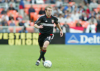 3 April 2004: DC United Bryan Namoff in action against Earthquakes during the opening day at RFK Stadium in Washington DC.  DC United defeated Earthquakes 2-1.