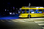 I captured this picture in the street were I work, I was on my way to fetch some dinner, and this buss passed me.