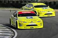 #8 Matt Neal (GBR) & #44 Steve Soper (GBR). Peugeot Sport UK. Peugeot 406 Coupé.