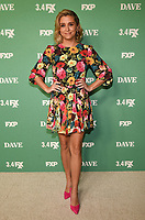 """LOS ANGELES - FEBRUARY 27: Taylor Misiak attends the red carpet premiere event for FXX's """"Dave"""" at the Directors Guild of America on February 27, 2020 in Los Angeles, California. (Photo by Frank Micelotta/FX Networks/PictureGroup)"""