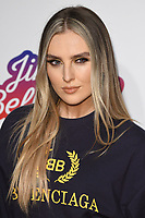 LONDON, UK. December 09, 2018: Perrie Edwards (Little Mix) at Capital&rsquo;s Jingle Bell Ball 2018 with Coca-Cola, O2 Arena, London.<br /> Picture: Steve Vas/Featureflash