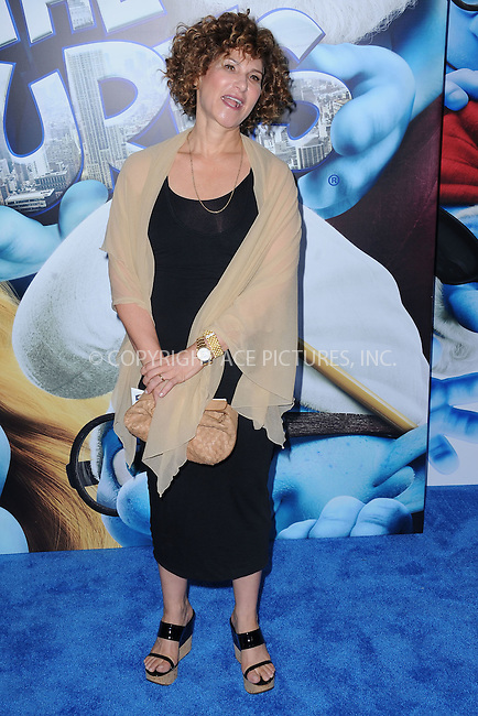 WWW.ACEPIXS.COM . . . . . .July 24, 2011...New York City....Amy Pascal attends the premiere of 'The Smurfs' at the Ziegfeld Theater on July 24, 2011 in New York City....Please byline: KRISTIN CALLAHAN - ACEPIXS.COM.. . . . . . ..Ace Pictures, Inc: ..tel: (212) 243 8787 or (646) 769 0430..e-mail: info@acepixs.com..web: http://www.acepixs.com .