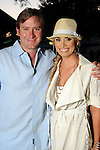 "Cory Krueger and Tara Crawford at the ""A Night in Havana""  benefit at Concepcion on W. Alabama  Saturday July 21, 2012.(Dave Rossman/For the Chronicle)"