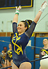 Heidi Baldinger of Massapequa begins her performance on the uneven bars during the Nassau County varsity gymnastics team championship at Berner Middle School in Massapequa on Thursday, Feb. 15, 2018.