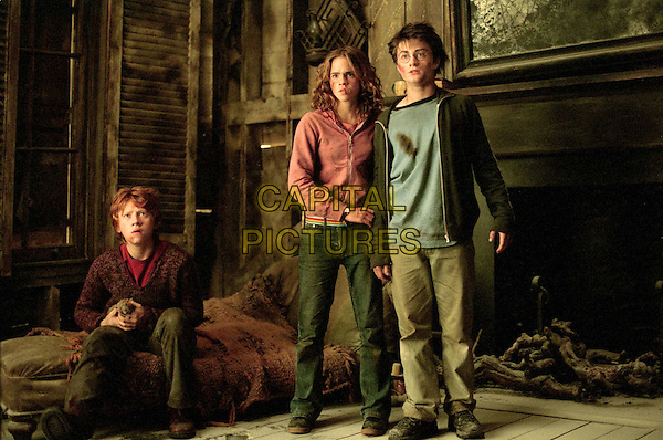 RUPERT GRINT, EMMA WATSON & DANIEL RADCLIFFE.in Harry Potter And The Prisoner Of Azkaban.Filmstill - Editorial Use Only.CAP/AWFF.Supplied by Capital Pictures.