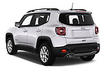 Car pictures of rear three quarter view of 2019 JEEP Renegade Limited 5 Door SUV Angular Rear