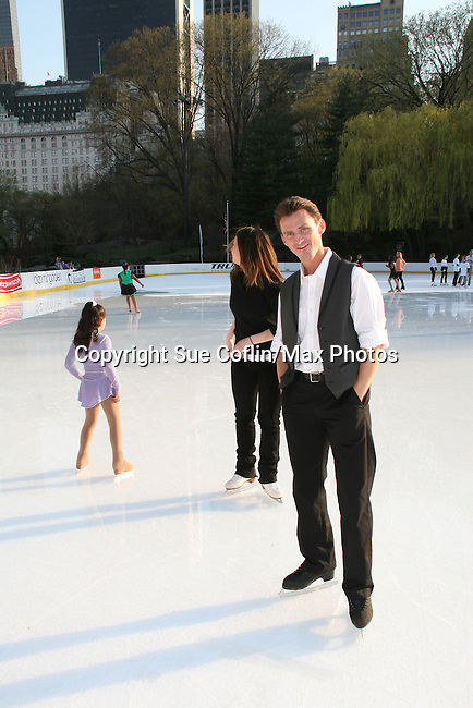 Olympic Skater Todd Eldredge at Skating with the Stars (celebrities & Olympic skaters), a benefit gala for Figure Skating in Harlem on April 6, 2010 at Wollman Rink, Central Park, New York City, New York. (Photo by Sue Coflin/Max Photos)