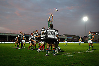 Photo: Richard Lane/Richard Lane Photography. .Barbarians v Ireland. The Gartmore Challenge. 27/05/2008. Ireland lineout.