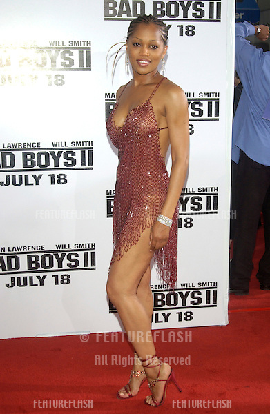 Actress THERESA RANDLE at the world premiere, in Los Angeles, of her new movie Bad Boys II..July 9, 2003.