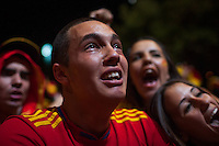 Fan cry with the victory and consequent step to 2012 UEFA Cup final