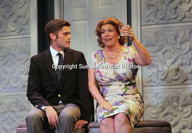 "All My Children's Jane Brockman and Ryan Bloomquist star in ""It Shoulda Been You"" - a new musical comedy - at the Gretna Theatre, Mt. Gretna, PA on July 30, 2016. (Photo by Sue Coflin/Max Photos)"