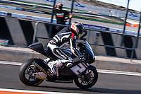 Josh Herrin in pit line at pre season winter test IRTA Moto3 & Moto2 at Ricardo Tormo circuit in Valencia (Spain), 11-12-13 February 2014