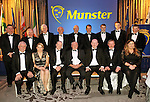Limerick GAA members pictured at the Bord G&aacute;is Energy Munster GAA Sports Star of the Year Awards in The Malton Hotel, Killarney on Saturday night. Included are front from left, Eamonn Phelan, Michelle casey, Camogie Player of the year, Dave Kirwan, Bord Gais Energy, Pat Heffernan, Mike Fitzgerald, Joe Lyons and Mary O'Mahony. At back, Donal Hayes, Jimmy Enright, Denis Ho,mes, Sean McAulliffe, Richard Moloney, Shane Hourigan, Richie Mccarthy, Senior Hurler of the Year, Ronan Lynch, Minor Hurler of the Year and Donal Morrissey.<br /> Picture by Don MacMonagle<br /> <br /> PR photo from Munster Council