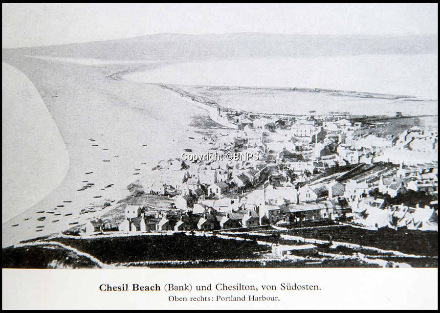 BNPS.co.uk (01202 558833)<br /> Pic: PhilYeomans/BNPS<br /> <br /> Portland Bill and Chesil Beach in Dorset.<br /> <br /> Chilling - Hitlers 'How to' guide to the invasion of Britain.<br /> <br /> A remarkably detailed invasion plan pack of Britain has been unearthed to reveal how our genteel seaside resorts would have been in the front line had Hitler got his way in World War Two.<br /> <br /> The Operation Sea Lion documents, which were issued to German military headquarters' on August 1, 1940, contain numerous maps and photos of every town on the south coast.<br /> <br /> They provide a chilling reminder of how well prepared a German invading force would have been had the Luftwaffe not been rebuffed by The Few in the Battle of Britain.<br /> <br /> There is a large selection of black and white photos of seaside resorts and notable landmarks stretching all the way from Land's End in Cornwall to Broadstairs in Kent.<br /> <br /> The pack also features a map of Hastings, raising the possibility that a second battle could have been staged there, almost 900 years after the invading William The Conqueror triumphed in 1066.