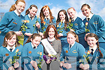 ROSE: Pupils of Scoil Eoin, Balloonagh in Tralee with the 2007 Rose of Tralee who visited the school on Friday, front l-r: Laurie O'Connor, Maeve Lyons, Rose of Tralee Lisa Murtagh, Rebecca O'Halloran, Ciara Kelliher. Back l-r: Deirdre Galvin, Christine Kelly, Lisa Kelly, Caroline Crowley, Clodagh Moore, Katie McCarthy   Copyright Kerry's Eye 2008