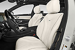 Front seat view of 2017 Mercedes Benz S-Class Maybach 4 Door Sedan Front Seat  car photos