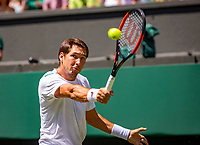 London, England, 2 th July, 2018, Tennis,  Wimbledon, Dusan Lajovic (SRB)<br /> Photo: Henk Koster/tennisimages.com