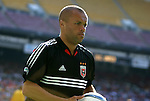 24 April 2004: Earnie Stewart prepares to take a corner kick during the first half. The Chicago Fire defeated DC United 1-0 at RFK Stadium in Washington, DC on opening day of the regular season in a Major League Soccer game..