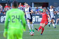 Portland, OR - Saturday July 22, 2017: Katherine Reynolds during a regular season National Women's Soccer League (NWSL) match between the Portland Thorns FC and the Washington Spirit at Providence Park.