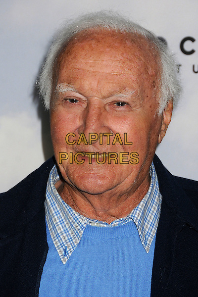 "Robert Loggia.""Promised Land"" Los Angeles Premiere held at the Directors Guild of America, West Hollywood, California, USA, .6th December 2012.portrait headshot blue .CAP/ADM/BP.©Byron Purvis/AdMedia/Capital Pictures."