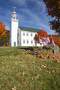 Washington Common in Washington, New Hampshire USA .Notes:.Washington is the first town incorperated under the name of George Washington plus the meeting house has been in continuous use for over 200 years...