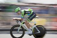 Jack Bauer (NZL/Cannondale-Garmin) during the stage 1 prologue recon in Utrecht (13.8km)<br /> <br /> Tour de France 2015